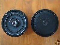 Porsche Radio Speakers fit 356 B C SC T5 T6 New Upgrade 5 Inch Stereo 4 ohm