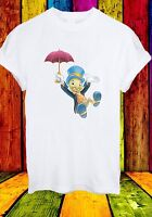 Disney Jiminy Cricket And Umbrella Pinocchio Men Women Unisex T-shirt 590