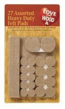 27 Assorted Felt Pads Self Adhesive Wood Laminate Floor Furniture Protect Home