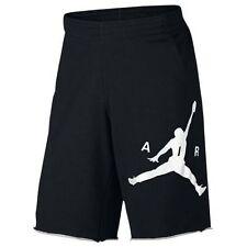 Mens  Air Jordan City Knit Graphic Shorts 835159 010 Black/White Brand New Sz L