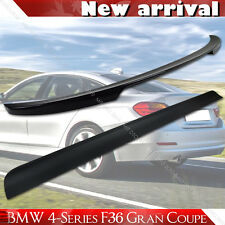 Painted For BMW F36 Gran Coupe Performance Trunk Spoiler Roof Lip Spoiler