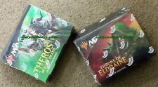 MAGIC THEROS BEYOND DEATH * THRONE OF ELDRAINE COLLECTOR BOOSTER 2 BOX LOT