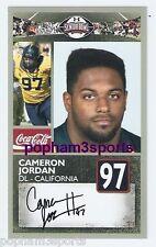 Cameron Jordan - 2011 Senior Bowl Card - Cal Bears