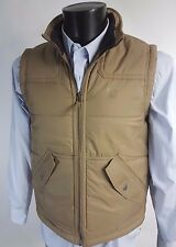 TIMBERLAND Beige Padded GILET VEST BODYWARMER Quilted L BNWT