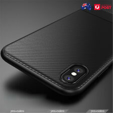 For iPhone Xs Max Xs XR Case Carbon Fiber Protection TPU Ultra Thin Case Cover