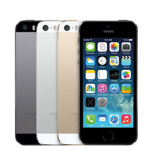 Apple iPhone 5S 16 32 64GB Space Gray White/Silver Gold unlocked for all coutry