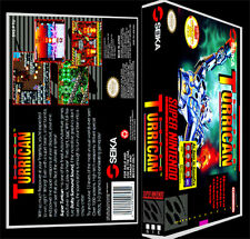 Super Turrican - SNES Reproduction Art Case/Box No Game.