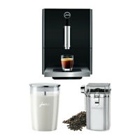 Jura A1 15148 Ultra-Compact Coffee Center (Piano Black) with Milk Container Kit