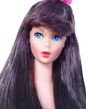 Gorgeous Vintage Black Cherry Standard Barbie Doll MINT