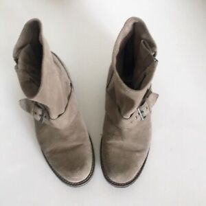 Dolce Vita Ankle Gray Suede Booties Size 6.5