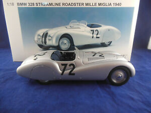 Auto Art 84045 BMW 328 Streamline Roadster 1940 Mille Miglia RN 72 Scale 1:18