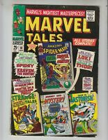 Marvel Tales 10 VGF (5.0) 9/66 Spiderman Battles Kraven! 68 pages!