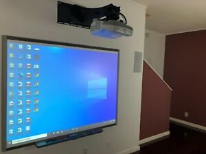 Home School Interactive Whiteboard ( Smart Board With Projector And Mount)