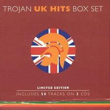Trojan Box Set: U.K. Hits [Box] by Various Artists CD 2002, 3 CD Trojan sealed M
