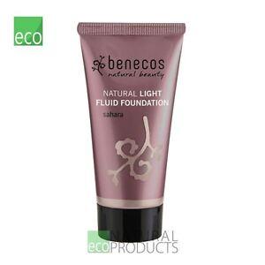 Benecos Natural Light Fluid Foundation Sahara 30ml