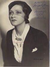 Portrait d'une belle femme par Arnal Paris Vintage Argentique ca 1935