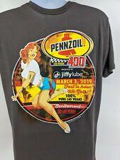 Pennzoil Las Vegas 400 2019 T-shirt Men's Size Large( sz tag missing)