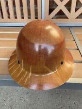 New listing Msa Skullgard Fiberglass Full Brim Hard Hat 475407 New