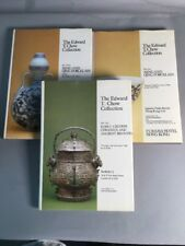 EDWARD T CHOW COLLECTION-3 Vols Chinese art & Ming/Qing porcelain Sotheby auctio