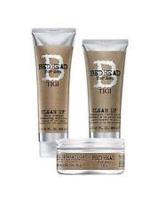 TIGI BED HEAD B For Men - Clean Up Shampoo & Conditioner & Pure Texture Paste