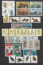 East-Germany/DDR/GDR: All stamps of 1982 in a year set complete, MNH