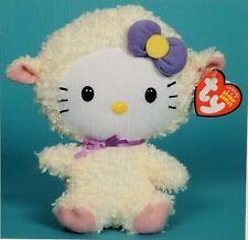 "Ty Beanie Baby Hello Kitty Plush - Easter Lamb Costume 6"" 16cm NEW Style # 40949"