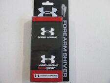 NEW Under Armour - Adult Forearm Shiver / Black Arm Sleeve (OSFA)