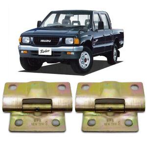 K1AutoParts Left Side Door Hinge Hinges Upper and Lower For Isuzu Pickup TFR//Holden Rodeo Pickup//Amigo//PU//Trooper 1989-2001