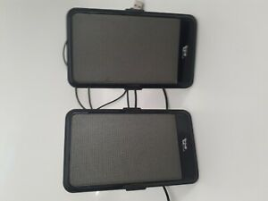Pre owned Portable wired pc speakers for laptop or pc