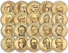 2007 a 2016 Dollari Presidenziali Coin Set completo di 37 P o D