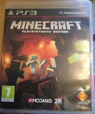 PLAYSTATION 3 PS3 GAME MINECRAFT AGE 7+ FREE UK SHIPPING