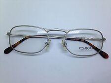ROMEO GIGLI occhiali da vista vintage originali argento RG54 unisex glasses