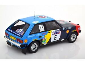1:18 IXO 18RMC035A Stig Blomqvist Talbot Sunbeam Lotus #6 RAC Rally 1982 LOMBARD