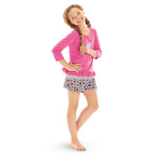 American Girl CL MY AG LOVELY LEOPARD PAJAMAS for Girls SIZE MEDIUM 10-12 PJ NEW
