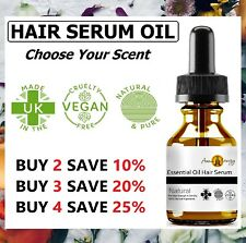 Hair Growth Serum Natural Essential Oil Hair Regrowth Treatment Repair Care Oil