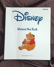 Brother Embroidery card for embroidery Machine Winnie the Pooh very rare