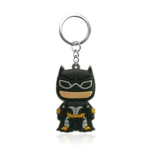 Batman Keychain Key Tag Bat Man Action Figure Key Ring Mini Action Figure Toy