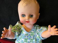 """Vintage Gerber Baby 12"""" doll with Rolling Eyes"""