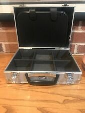 Intec Nintendo Gameboy Aluminum Metal Hard Silver Briefcase