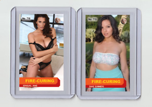 Shae Summers rare MH Fire-Cured #'d 1/3 Tobacco card no. 719