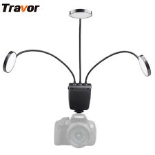 Travor ML-3D Macro Ring Flash LED Light for Canon Nikon Olympus Sony-MIS Camera