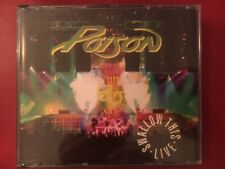 """CD POISON LIVE 2 CD SET """"SWALLOW THIS LIVE"""" 1991"""