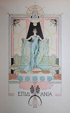 1904 Conte à Mariani Cypsélos l'invincible conte Grec Augustin Poupart 1/300 ex.