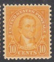 United States stamp #642, MNHOG, XF, SCV $32.50
