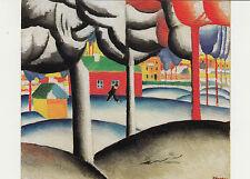 Kunstkarte / Postcard Art - Kasimir Malewitsch:  Landschaft - Der Winter