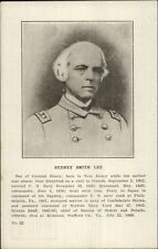 Civil War - Sydney Smith Lee Son of Gen Henry Confederate Navy Postcard gfz