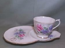Royal Albert Friendship Sweet Pea Bone China Tea Cup & Buffet Plate TV Tennis (A