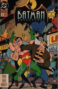 Loren Lester Signed Batman Adventures #4 Comic Authentic Autograph JSA COA