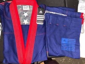 adidas Stars & Stripes Jiu Jitsu Gi A2.5 Navy Blue w/ Gi Bag