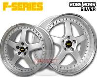 4x FR SILVER 20 inch Staggered Alloy Wheel FORD FALCON AU BA BF FG XR6 XR8 G6E